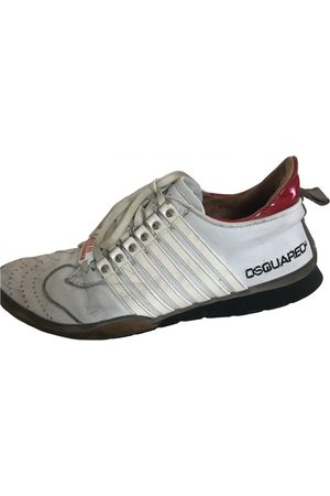 Dsquared2 Leather Trainers