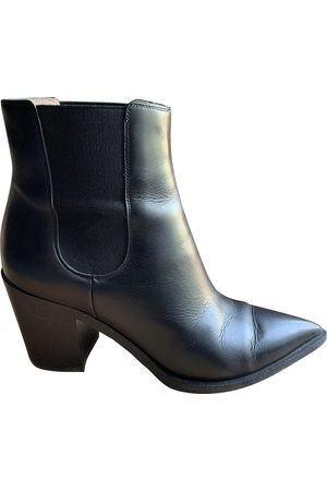 Gianvito Rossi Women Ankle Boots - Leather Ankle Boots