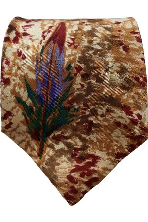CLAUDE MONTANA Multicolour Silk Ties