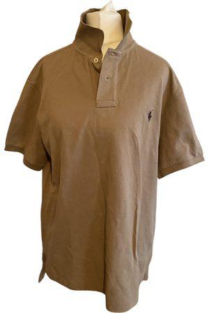 Polo Ralph Lauren Camel Cotton T-shirt