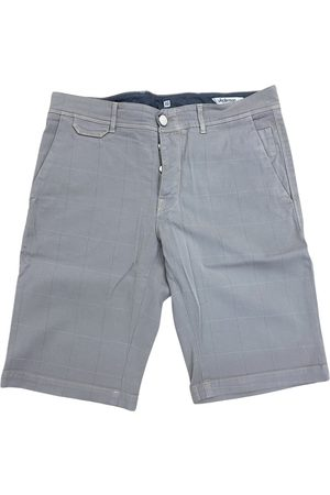 Jeckerson Men Shorts - Grey Cotton Shorts