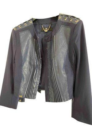 Elisabetta Franchi Viscose Leather Jackets