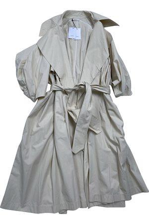 Céline Ecru Cotton Trench Coats