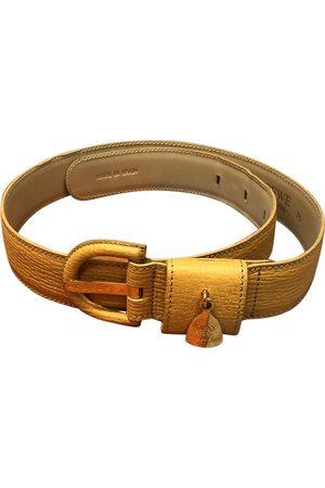 Loewe Camel Leather Belts