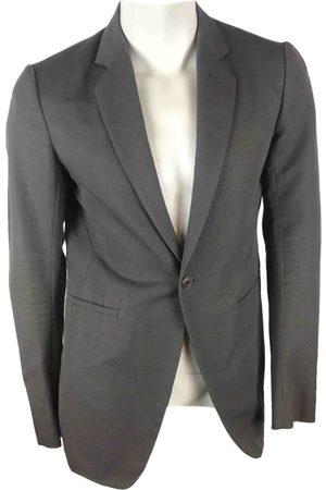 Rick Owens Grey Cotton Jackets