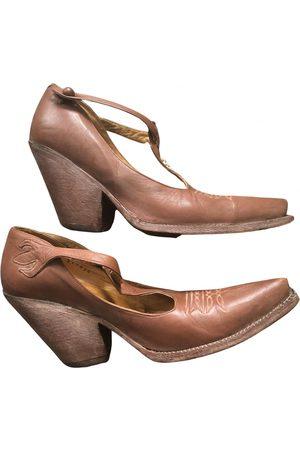 Jean Paul Gaultier Leather western boots