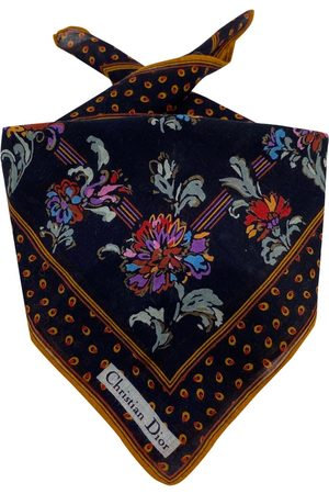 Dior Multicolour Cotton Scarves