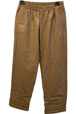 DEITAS Camel Synthetic Trousers