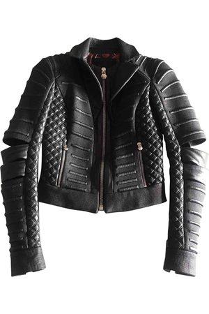 Philipp Plein Women Leather Jackets - Leather Leather Jackets