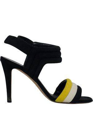 Céline Suede Sandals
