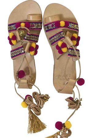 Mabu by Maria BK Women Sandals - Multicolour Leather Sandals