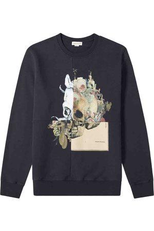 Alexander McQueen Navy Cotton Knitwear & Sweatshirts