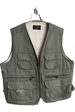 GANT Khaki Cotton Jackets
