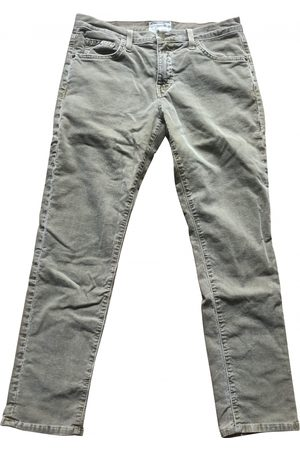 Current/Elliott Khaki Cotton Trousers