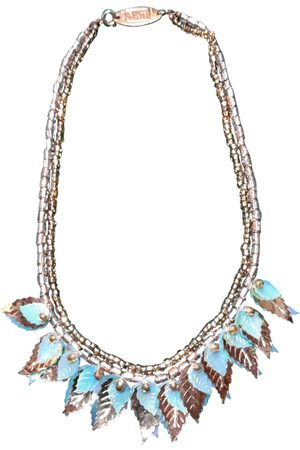 SHARRA PAGANO Turquoise Metal Necklaces