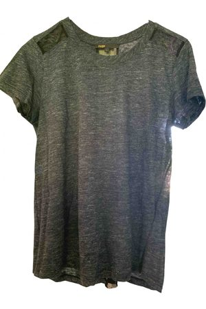 Maje Grey Synthetic Top