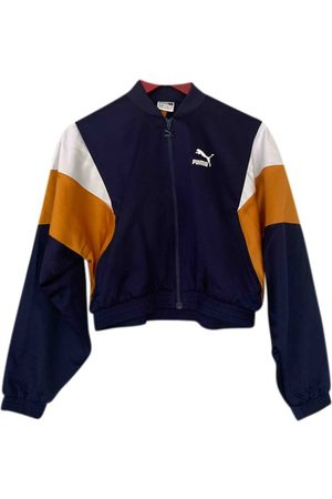 PUMA Polyester Leather Jackets