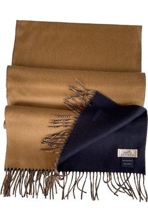 Hermès Camel Cashmere Scarves