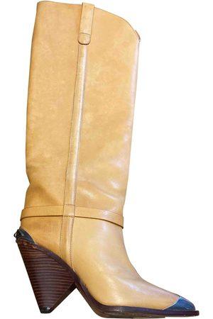 Isabel Marant Camel Leather Boots