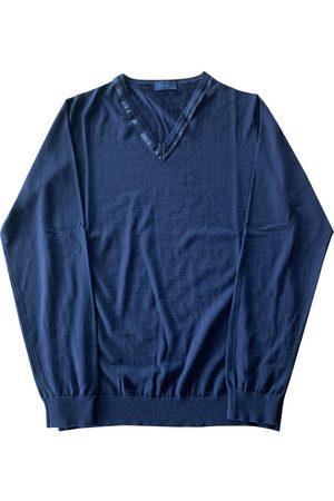 Lanvin Navy Wool Knitwear & Sweatshirts