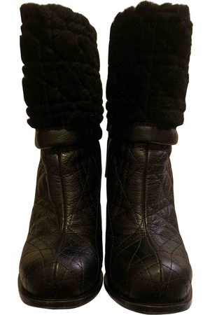 Dior Leather snow boots