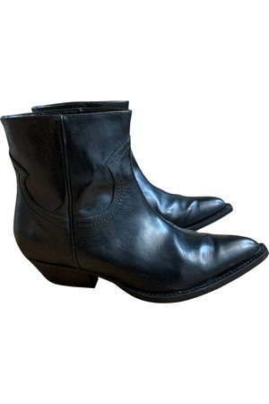 Serafini Leather Ankle Boots