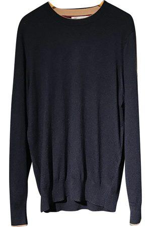 Brunello Cucinelli Navy Wool Knitwear & Sweatshirts