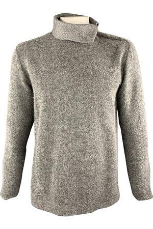 Stone Grey Wool Knitwear & Sweatshirts