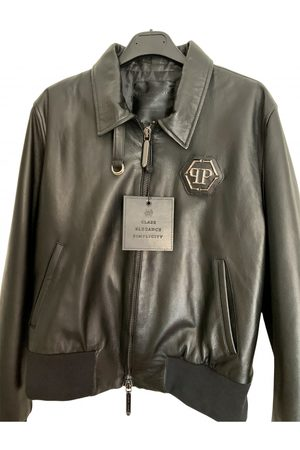 Philipp Plein Men Leather Jackets - Leather Jackets