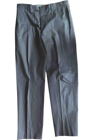 Hermès Khaki Cotton Trousers