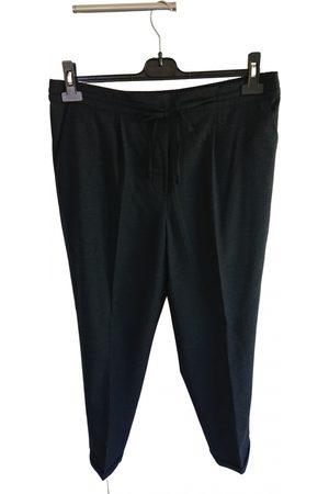 Calvin Klein Women Straight Leg Pants - Wool straight pants