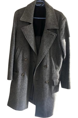 Ami Grey Wool Coats
