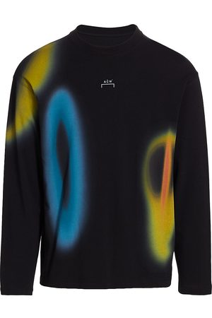 A-cold-wall* Men Long Sleeve - Men's Hypergraphic Long-Sleeve T-Shirt - - Size Small