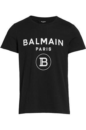 Balmain Men T-shirts - Men's Printed T-Shirt - Noir - Size Small