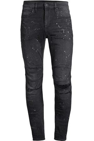 Hudson Men's Zack Skinny Distressed Jeans - Empire - Size 42