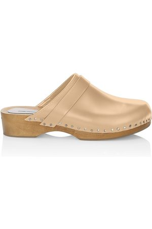 Isabel Marant Women Clogs - Women's Thalie Studded Leather Clogs - - Size 11