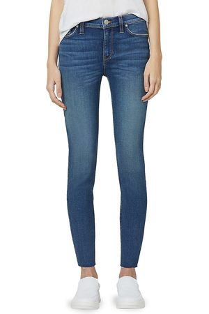 Hudson Jeans Women High Waisted - Women's Nico Mid-Rise Super Skinny Jeans - High Noon - Size 30