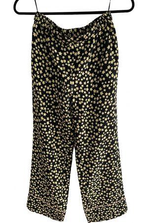 Nº21 Silk straight pants
