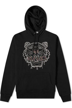 Kenzo Men Hoodies - Tiger Embroidered Skate Hoody