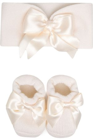 La Perla Sets - Bow-detail knitted set - Neutrals