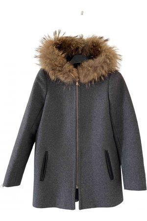 Milá Grey Wool Coats