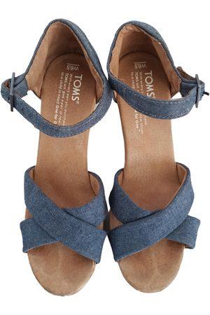 TOMS Women Sandals - Cloth sandals