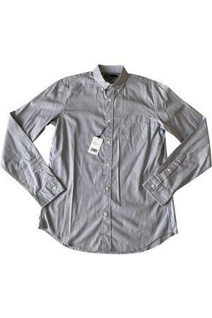 Vince Grey Cotton Shirts
