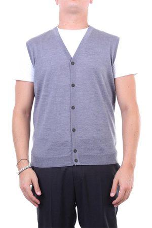 Halston Heritage Knitted vest Men Grey
