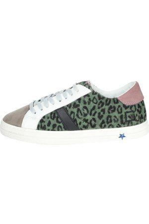 D.A.T.E. Sneakers Girls Verdone Camoscio/pelle