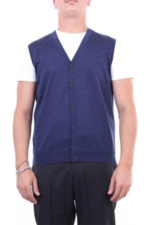 Halston Heritage Knitted vest Men Light