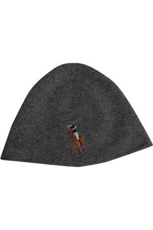 Polo Ralph Lauren Men Hats - Grey Wool Hats & Pull ON Hats