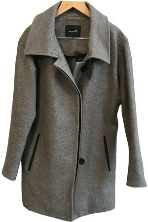 Isabel Marant Grey Cotton Coats