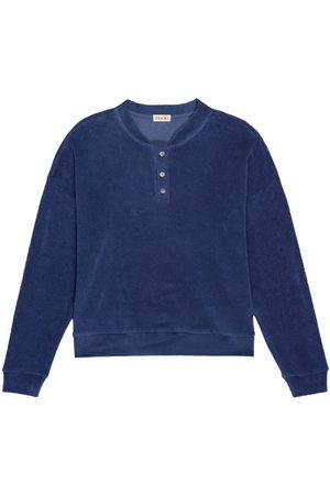 Donni. Terry henley sweatshirt