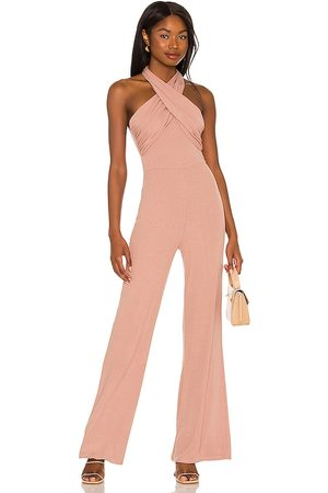 Lovers + Friends Tyra Jumpsuit in Nude.
